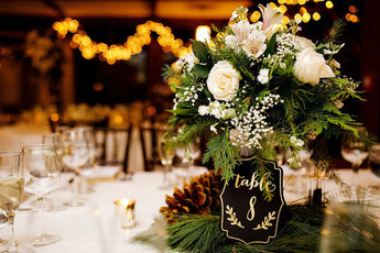 Wedding Party Event Centerpiece Arrangement