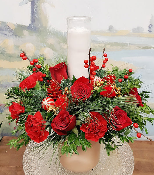 Christmas Luxury Centerpiece Arrangement