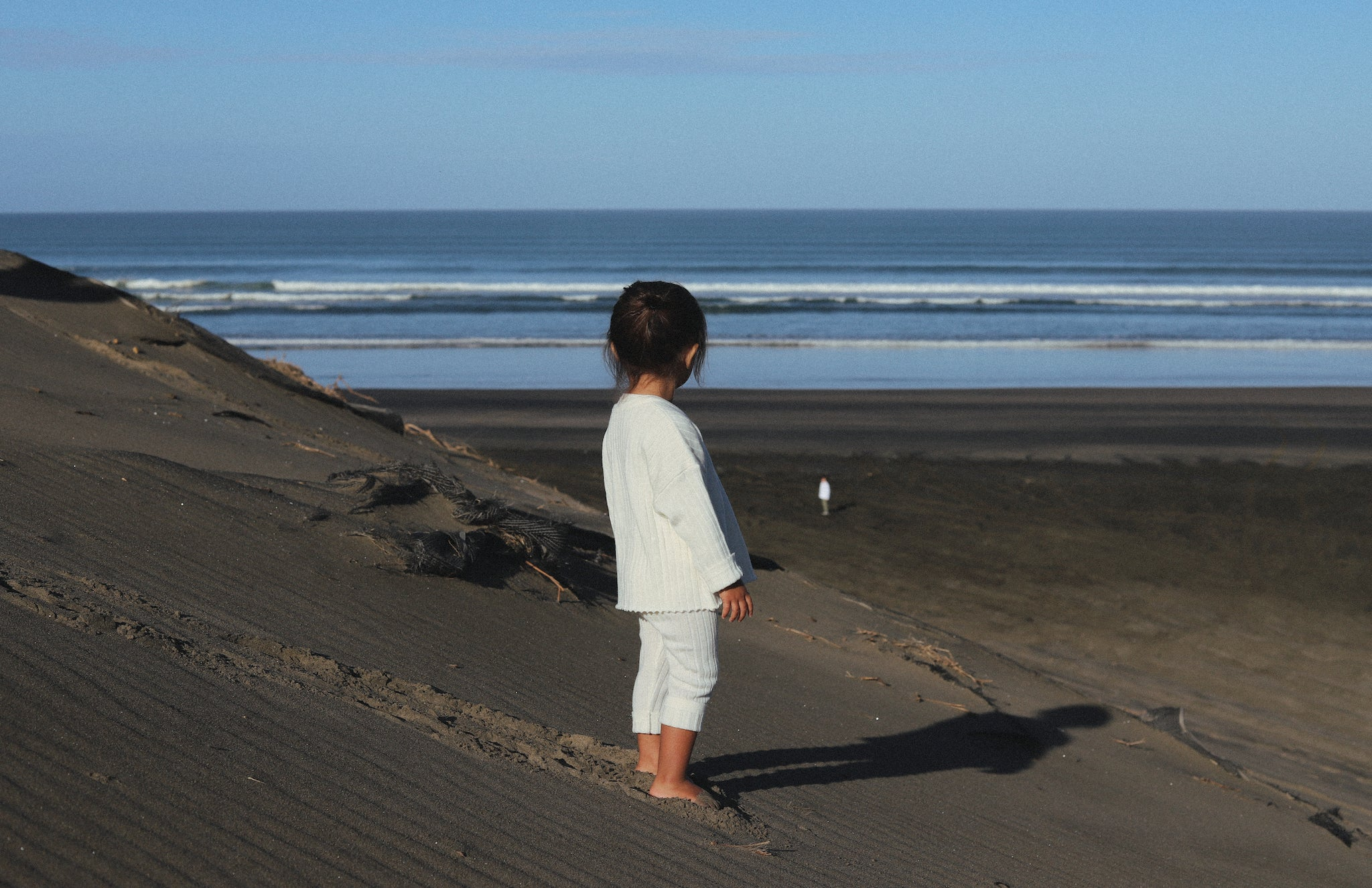 merino 100% natural clothing | kids | muriwai beach | west coast | NZ