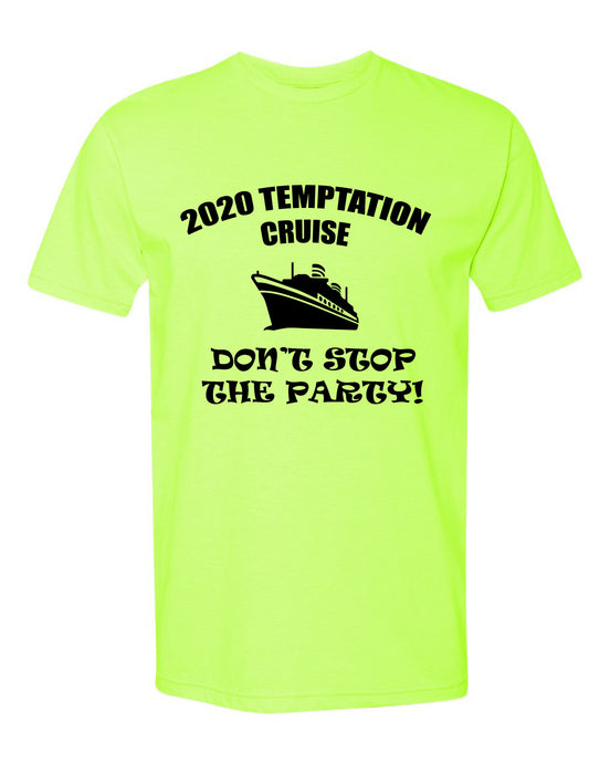 2020 Temptation Cruise Neon Shirt/Hat Combo ANACA Charity