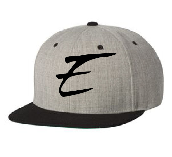 Yupoong Flat Bill Snap Back Heather Collection