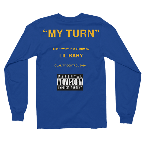 Blue My Turn Long Sleeve