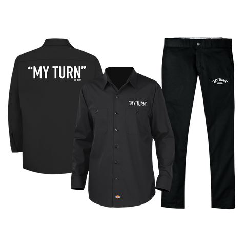My Turn Dickies Shirt + Pant Set