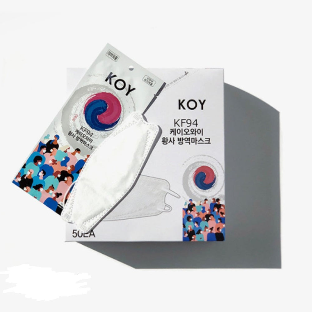 KOY Disposable Face Mask Anti Dust KF94