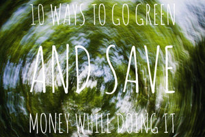 10 Ways to Go Green and Save Money While Doing It