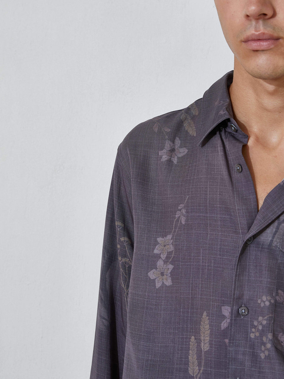 Faded Curtain Shirt