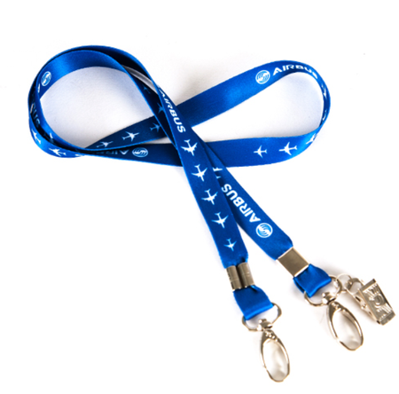 Airbus Lanyard, Blue Ribbon - Enjoy Aviation - AVIATION gifts -keychains-free ebook how to become a pilot