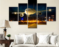 HD Print 5 Piece Aircraft Canvas