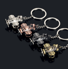 Load image into Gallery viewer, Propeller biplane KeyChain
