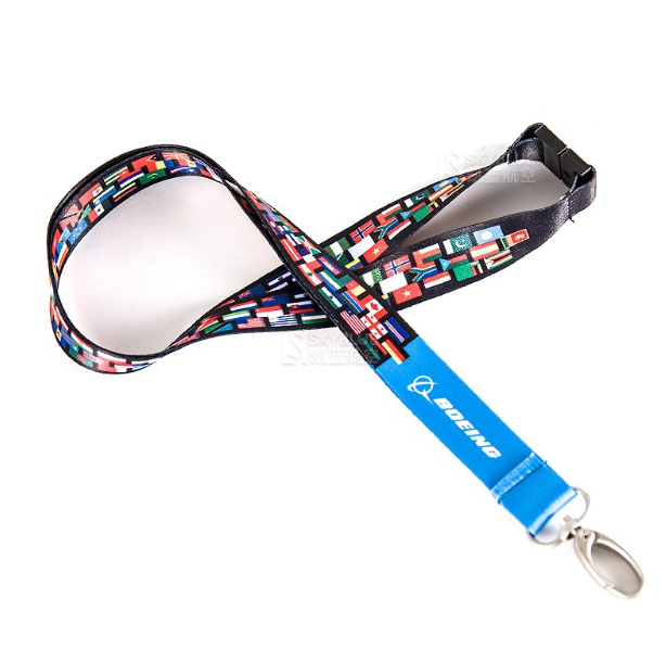 Boeing Lanyard  with  ID Card Holder