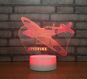 Spitfire Color changing 3D Lamps
