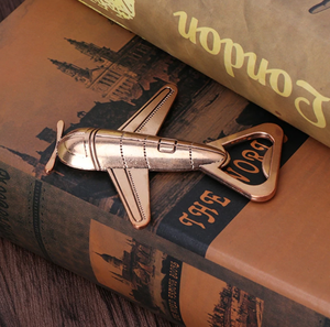 Vintage Airplane Shape Beer Opener