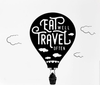 Air Balloon Wall Sticker - Enjoy Aviation - AVIATION gifts -keychains-free ebook how to become a pilot