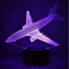 Airline Airplane Color changing 3D Lamps - Enjoy Aviation - AVIATION gifts -keychains-free ebook how to become a pilot