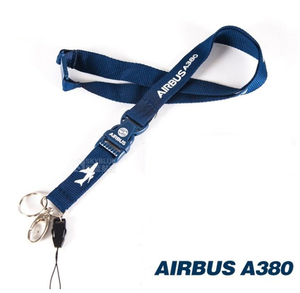 Airbus A380 Lanyard with Metal Buckle