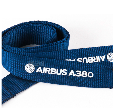 Airbus A380 Lanyard with Metal Buckle - Enjoy Aviation - AVIATION gifts -keychains-free ebook how to become a pilot