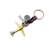 FREE High-quality Vintage Aircraft model leather Key Chain.