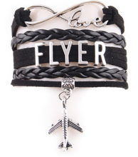 Load image into Gallery viewer, Casual  Pilot flyer Leather Bracelets