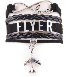 Casual  Pilot flyer Leather Bracelets