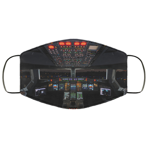 COCKPIT DESIGNED FACE MASKS