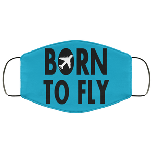 BORN TO FLY DESIGNED FACE MASKS