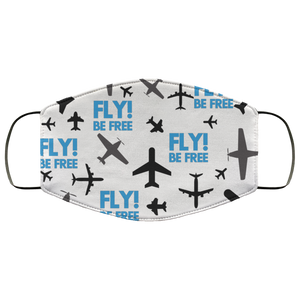 FLY BE FREE DESIGNED FACE MASKS