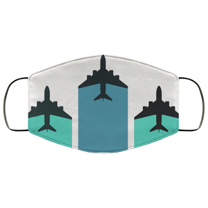 FORMATION PLANES DESIGNED FACE MASKS