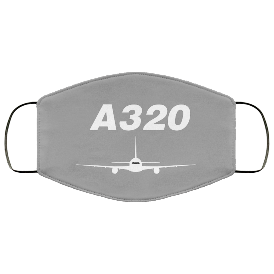 AIRBUS A320 DESIGNED FACE MASKS