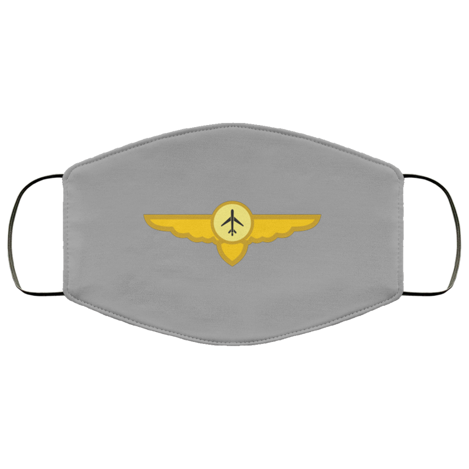 PILOT WINGS DESIGNED FACE MASKS