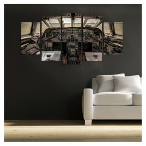 HD Wall Art Cockpit