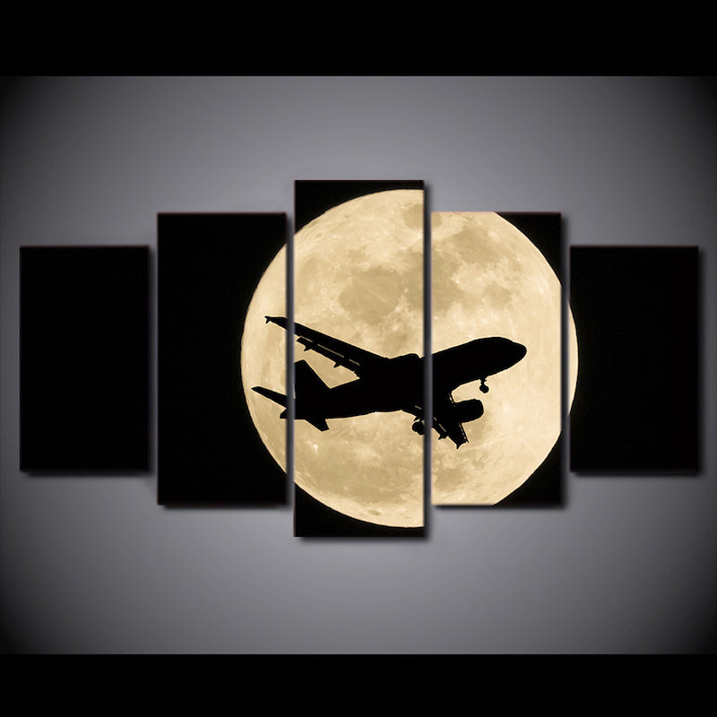 HD Fullmoon Airplane Framework