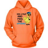KISS A PILOT AND FEEL THE DIFFERENCE Tees, Long Sleeves, and Hoodies