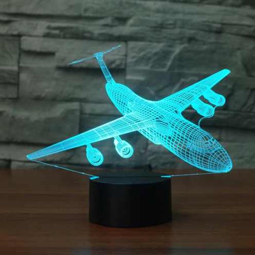 LOCKHEED C-5 GALAXY Color changing 3D Lamps