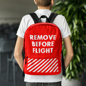 Remove Before Fligh Backpack