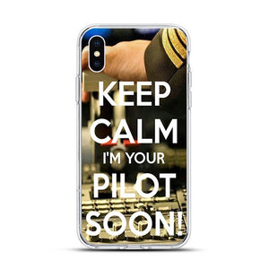 SOFT TPU Silicone Phone Case for iphone 11 11Pro XSMax X XR XS Aircraft Helicopter Airplane Pilot fly cases for 7 8 6s Plus 5s