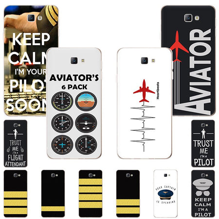 Aircraft Helicopter Airplane Pilot fly Soft TPU phone case for Samsung Galaxy A8star A9 A6 A8plus A7 A5 A82018 A80 A70 A40 cover - Enjoy Aviation - AVIATION gifts -keychains-free ebook how to become a pilot