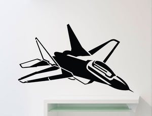 Airplane Wall Sticker Vinyl Adhesive - Enjoy Aviation - AVIATION gifts -keychains-free ebook how to become a pilot