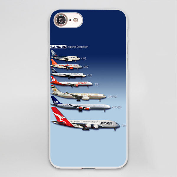 Airplane Soft Case Cover for iPhone X 7 8 6 6s Plus 5 5S SE 5C - Enjoy Aviation - AVIATION gifts -keychains-free ebook how to become a pilot
