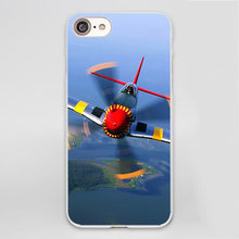 Load image into Gallery viewer, Airplane Soft Case Cover for iPhone X 7 8 6 6s Plus 5 5S SE 5C