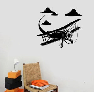 Aircraft Wall Sticker - Enjoy Aviation - AVIATION gifts -keychains-free ebook how to become a pilot