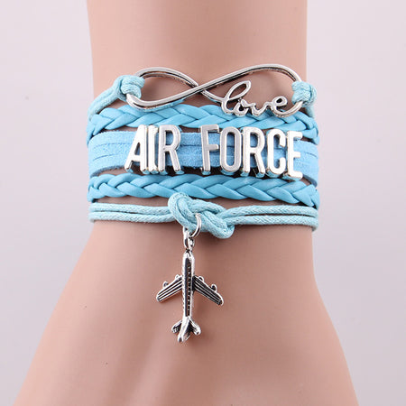 Love AIR FORCE bracelet