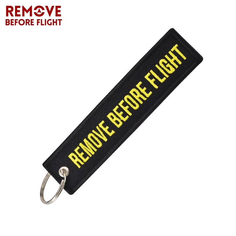Remove Before Flight KeyChain Tag