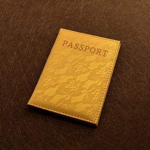 Luxury Elegant Women Passport Cover