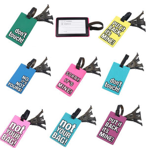 Funky Eiffel travel Travel Luggage Label Straps