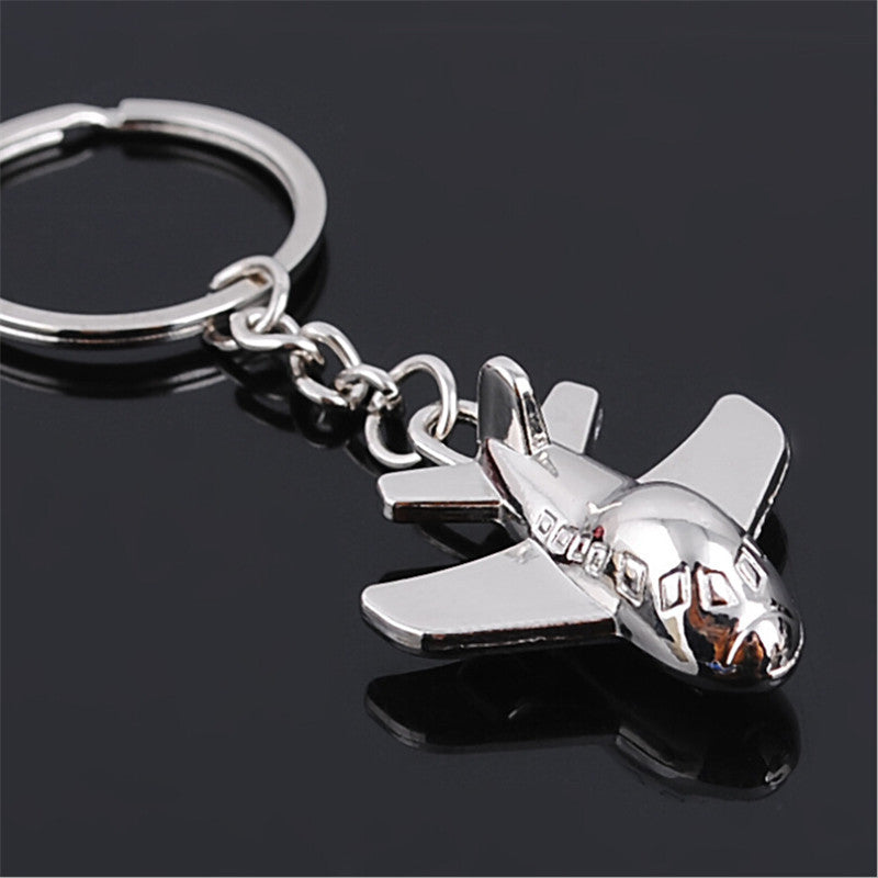 Cute airplane keychain
