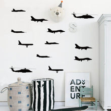 Load image into Gallery viewer, Airplane Wall Sticker Vinyl Adhesive