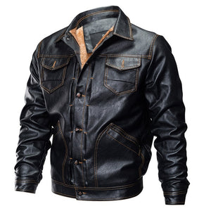 Leather Jacket US Army