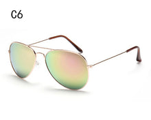 Load image into Gallery viewer, Aviator Sunglasses Gold frame