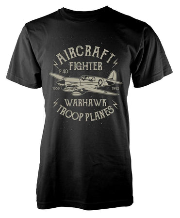 Pilot Aircraft Fighter T-Shirt