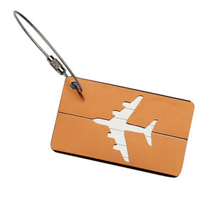 Airplane Square Shape ID Suitcase